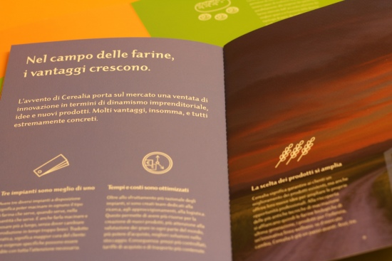 CURIOUSdesign - Cerealia - Dettagli interno brochure